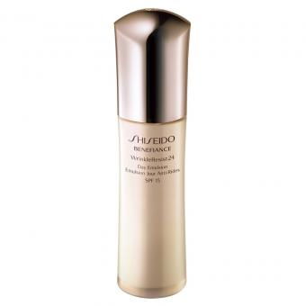 Shiseido Men - EMULSION SPF15 BENEFIANCE WRINKLERESIST24 Peau Grasse - Cosmetique shiseido men