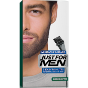 Just For Men - COLORATION BARBE Châtain Foncé - Coloration homme chatain fonce