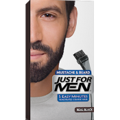 Just For Men Homme - COLORATION BARBE Noir Naturel - Cheveux