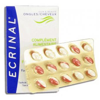 CAPSULES COMPLEMENT ALIMENTAIRE ONGLES & CHEVEUX Ecrinal