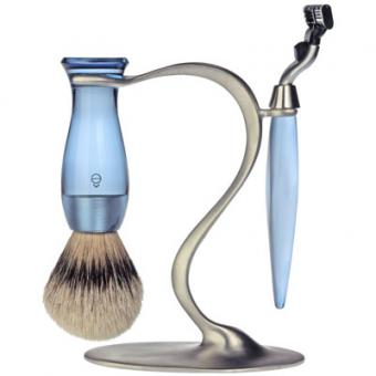 SET RASAGE 3 PIECES BLEU STAND S E Shave
