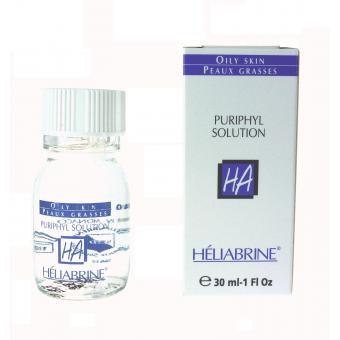 Heliabrine - SOLUTION ANTI-ACNE Peau Grasse - Soin anti bouton homme et poil incarne
