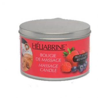 Heliabrine - BOUGIE DE MASSAGE FRUITS ROUGES Peau Grasse - Promotions