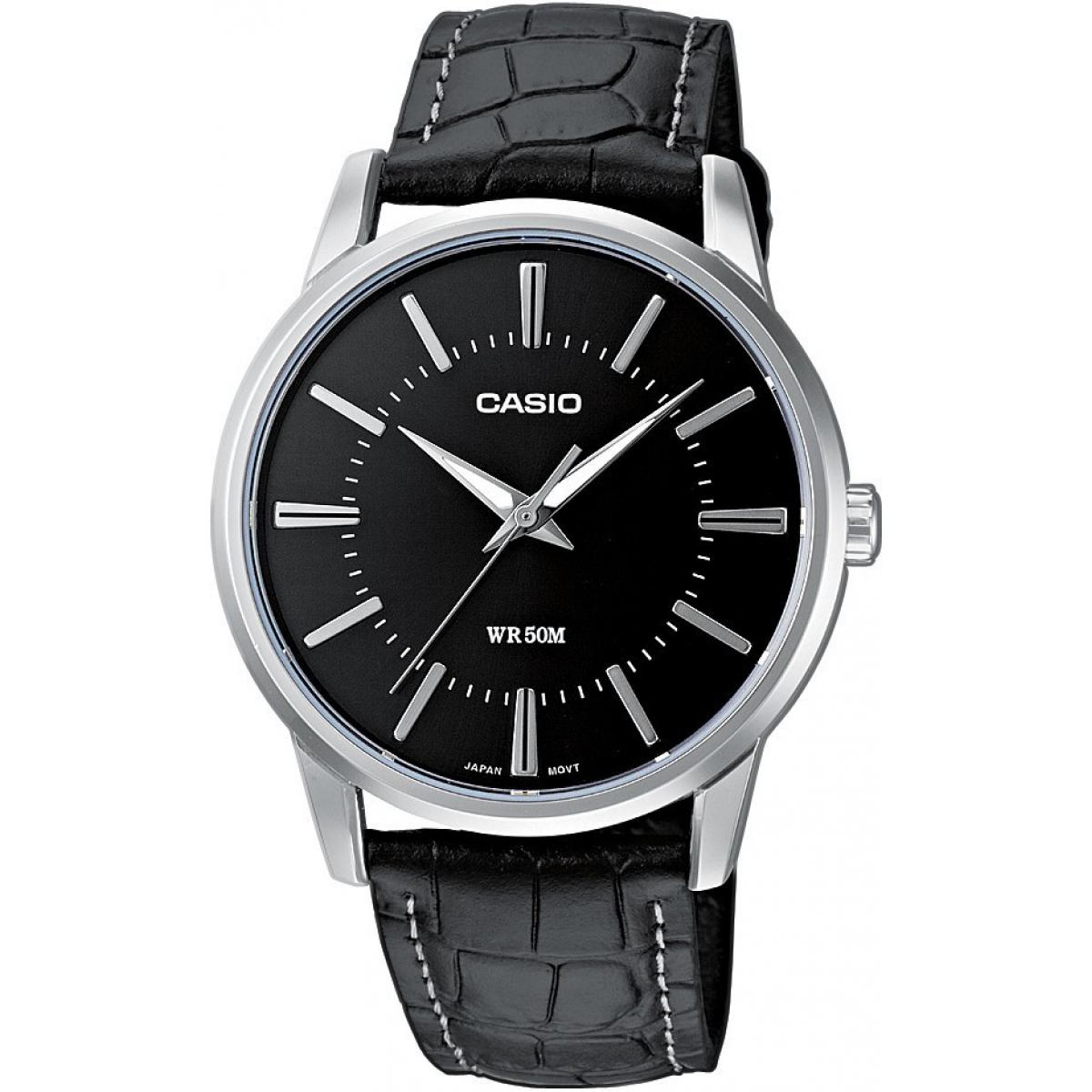 Montre Homme Casio Cuir Casio Collection MTP-1303PL-1AVEF