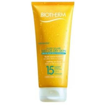 Fluide Solaire Wet Or Dry Skin SPF15 Biotherm Solaires