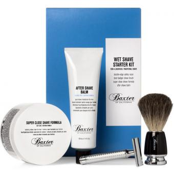 Kit Complet de Rasage Traditionnel Baxter of California