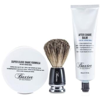 Baxter of California - Shave 1.2.3 Kit de Rasage - Cadeau homme