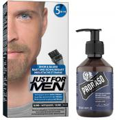 Just For Men - COLORATION BARBE Blond & Shampoing à Barbe 200ml Azur Lime - Entretenir sa barbe