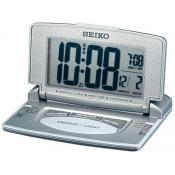 Seiko Clocks - REVEIL DE VOYAGE METALLISE - Montre digitale homme