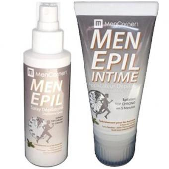 PACK MENEPIL SPRAY & MOUSSE DEPILATOIRES Mencorner.Com