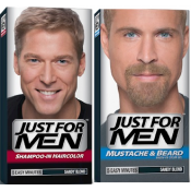 Just For Men Homme - DUO COLORATION CHEVEUX & BARBE Blond - Coloration Cheveux/ Barbe