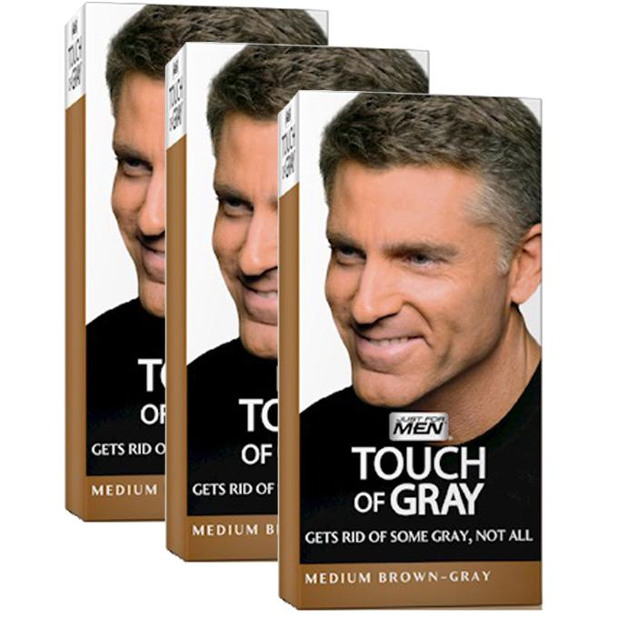 colorations cheveux gris chtain just for men - Shampoing Colorant Gris