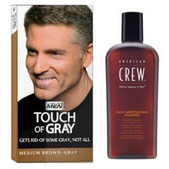 COLORATION CHEVEUX & SHAMPOING Gris Châtain Just For Men