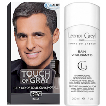 COLORATION CHEVEUX & SHAMPOING Gris Noir - PACK - Just For Men