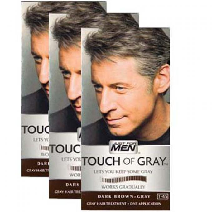 COLORATIONS CHEVEUX Gris Châtain Foncé Just for Men