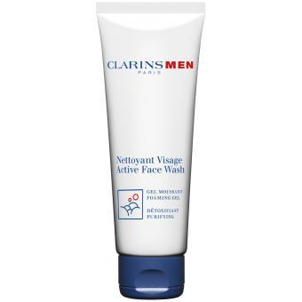 NETTOYANT VISAGE - Gel Moussant & Purifiant - Clarins Men