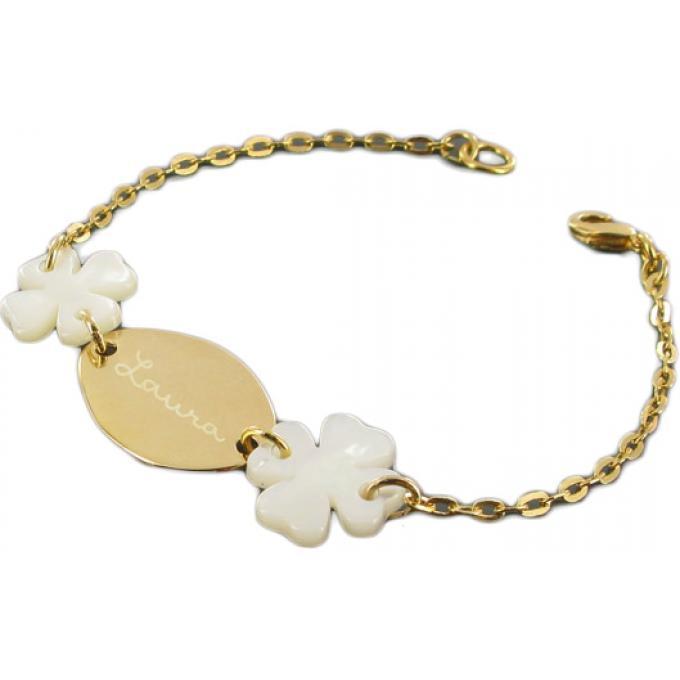 bracelet cha ne dor e mes petits tr fles blancs bijoux les bijoux de pauline et victoria. Black Bedroom Furniture Sets. Home Design Ideas