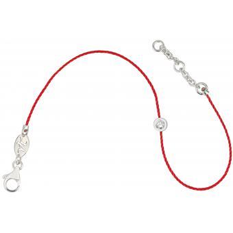 Bracelet Identity Fil Rouge Rond - Vanessa Tugendhaft