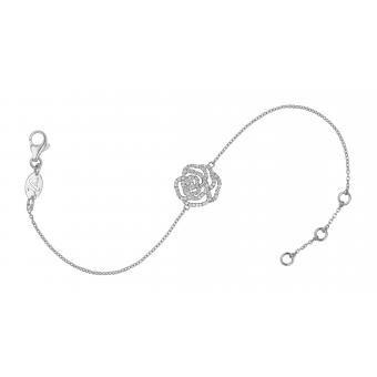 Bracelet Rose Diamant Blanc - Vanessa Tugendhaft