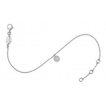 Bracelet Charm Pampille Or Blanc - Vanessa Tugendhaft