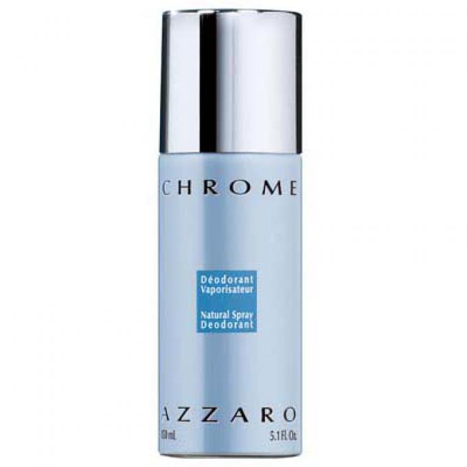 Chrome Deodorant Spray Azzaro Parfums D 233 Odorant Homme
