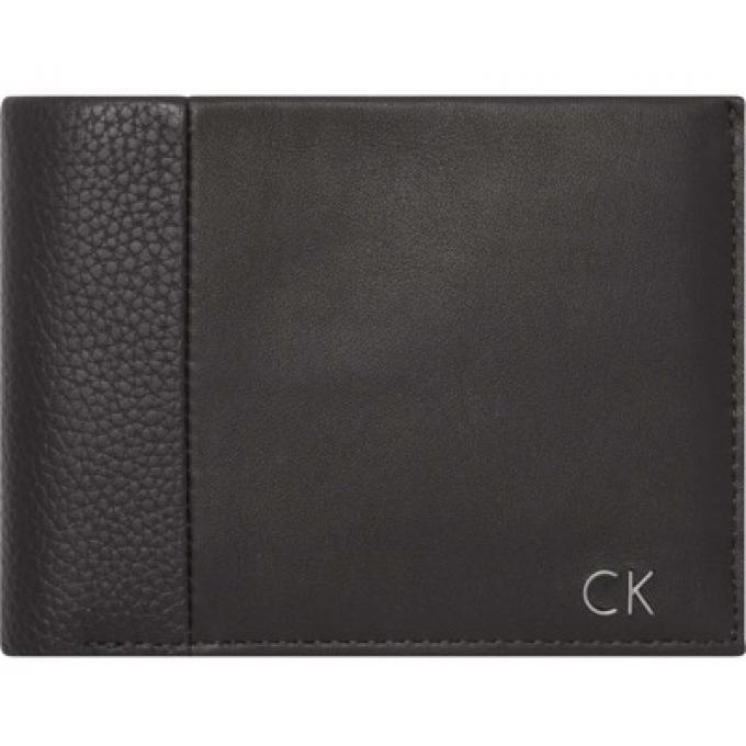 Calvin Klein Porte-cartes italien en cuir - 6 cartes Noir HjfmdmaT