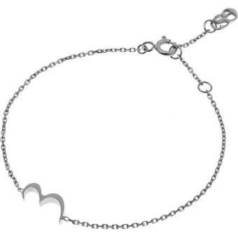 Bracelet Gold Number 3 or blanc - Second Effect