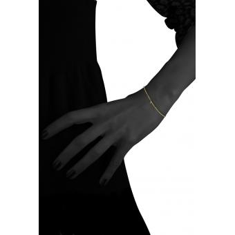 Bracelet Gold Number 8 or - Second Effect