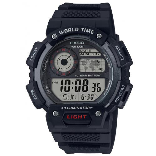 Casio - Montre Casio AE-1400WH-1AVEF - Montre casio homme