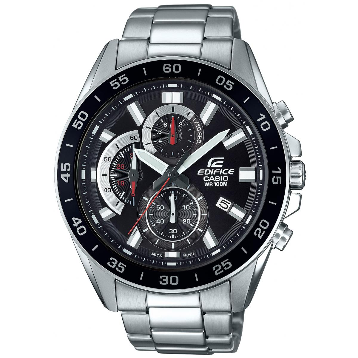 Montre Casio EFV-550D-1AVUEF - Casio Edifice Chrono Etanche Homme