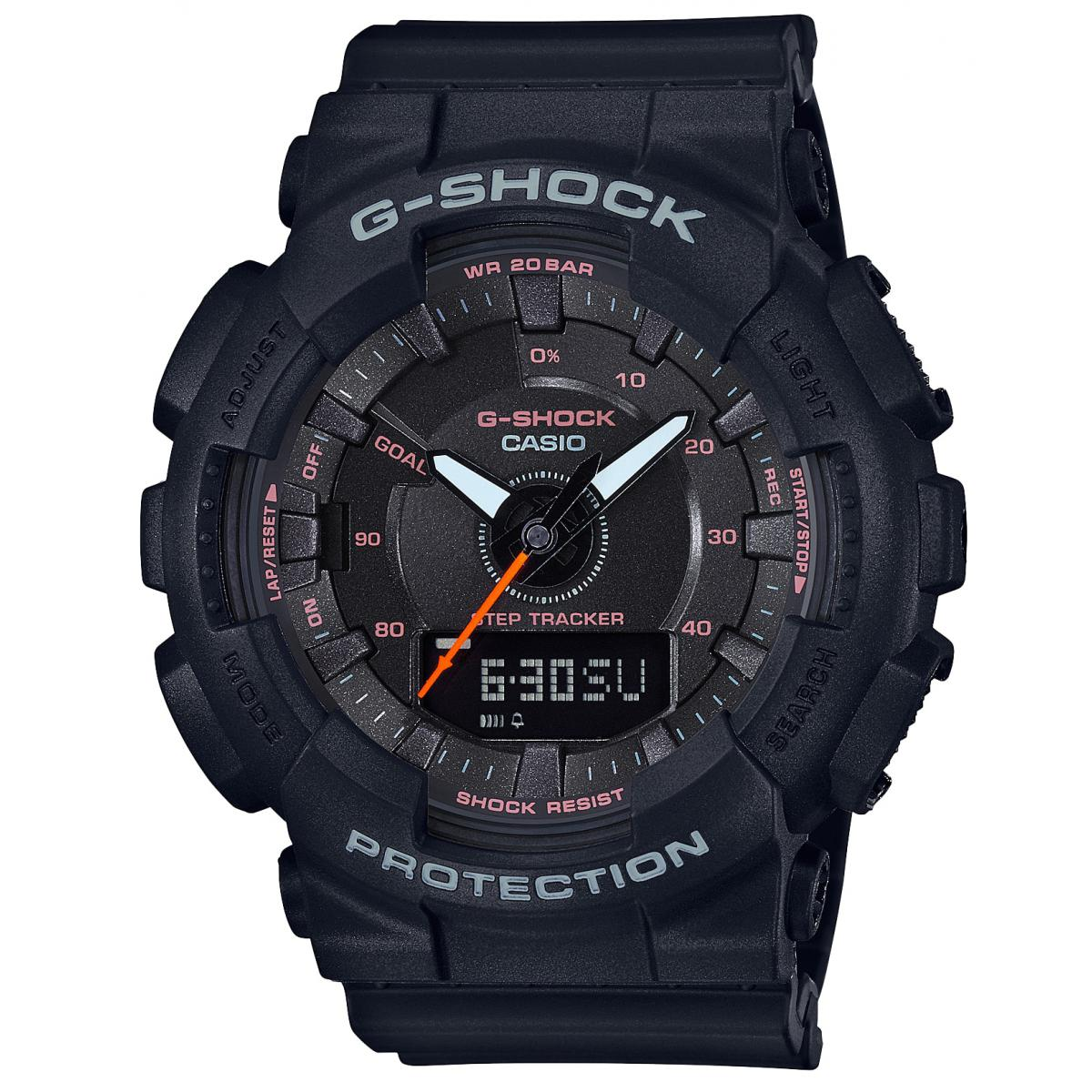 Montre Casio GMA_S130VC_1AER - Casio G-Shock Bluetooth Smartphone Noir Homme