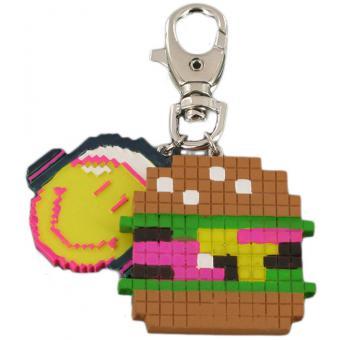 Porte clé Smiley Pixel - N2