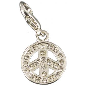 Charms peace & love strass - Philae