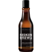 Redken - RK BREWS SHAMPOING EXTRA CLEAN - Redken brews soin cheveux barbe homme