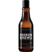 Redken - RK BREW SHAMPOING 3 IN 1 - Promotions