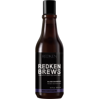 Redken - RK BREW SHAMPOING SILVER - Shampoing homme