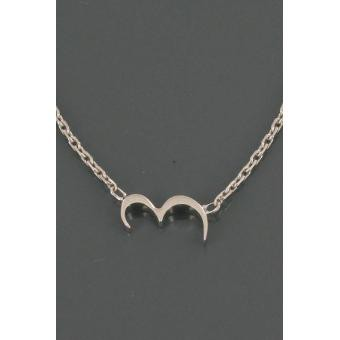 Collier Silver Number 3 argent - Second Effect