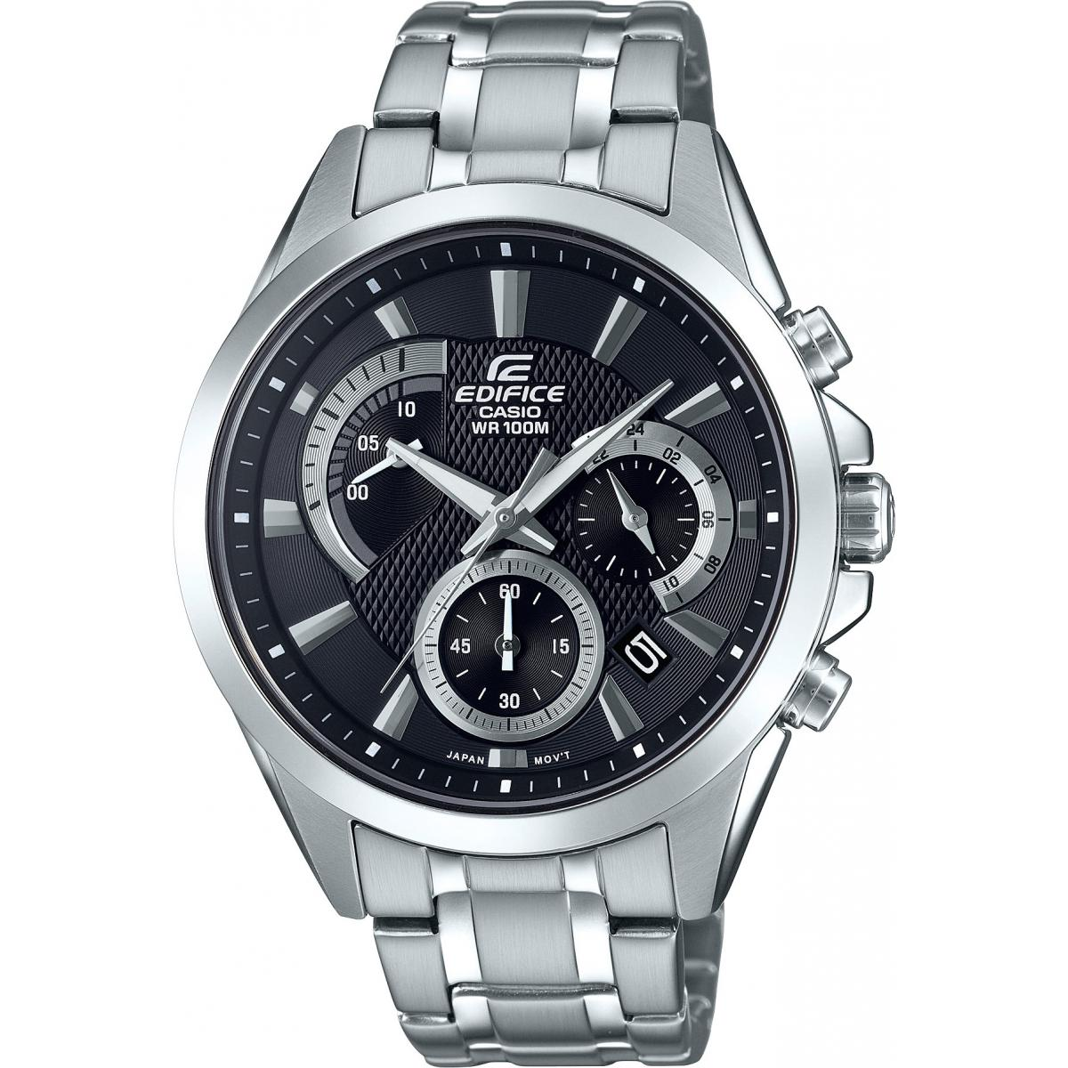 Montre Casio EDIFICE EFV-580D-1AVUEF - Montre EDIFICE Acier Homme