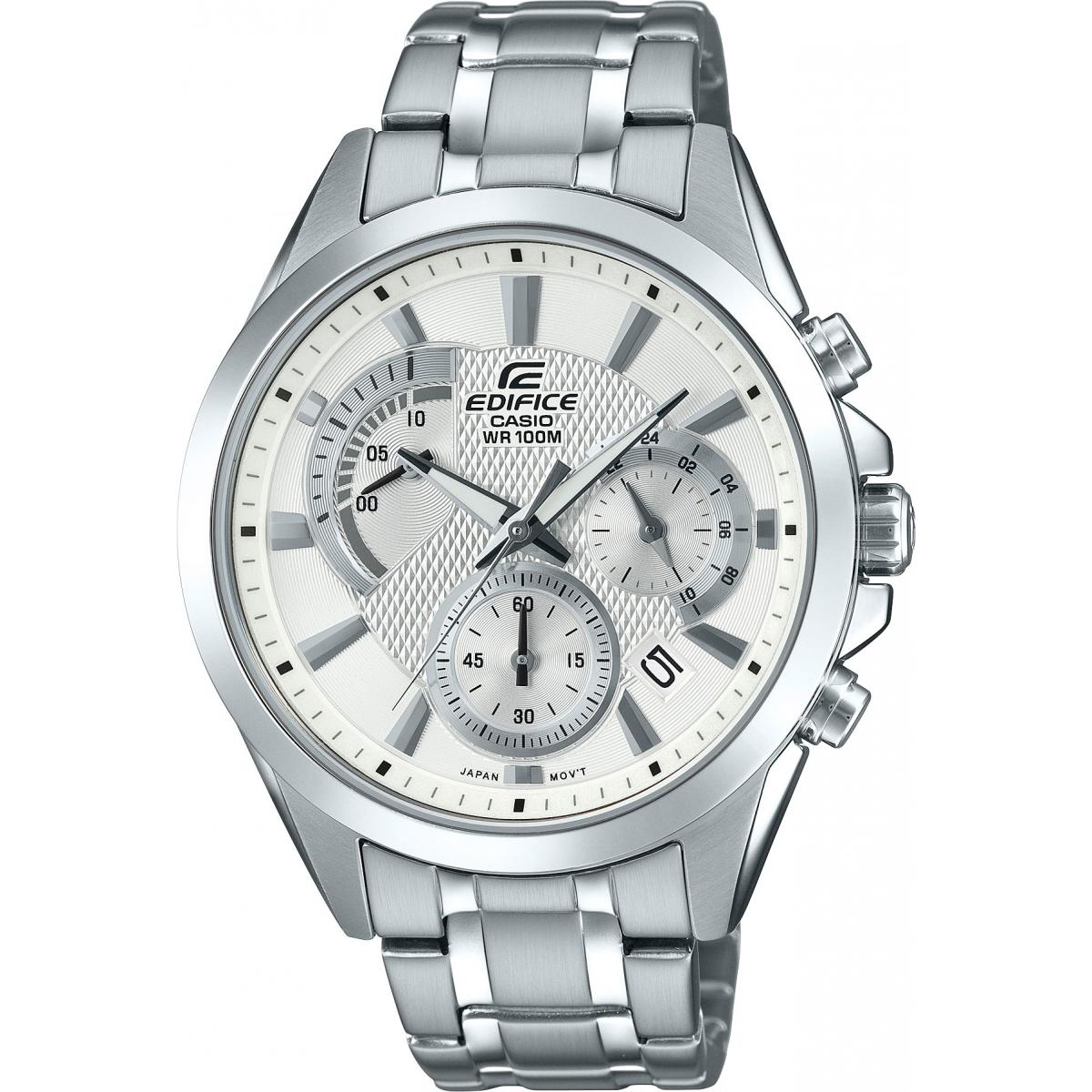Montre Casio EDIFICE EFV-580D-7AVUEF - Montre EDIFICE Acier Homme