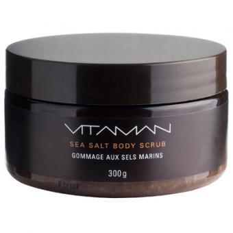 Vitaman - homme KÖRPERPEELING MIT MEERESSALZEN - Peeling für Herren - Vitaman
