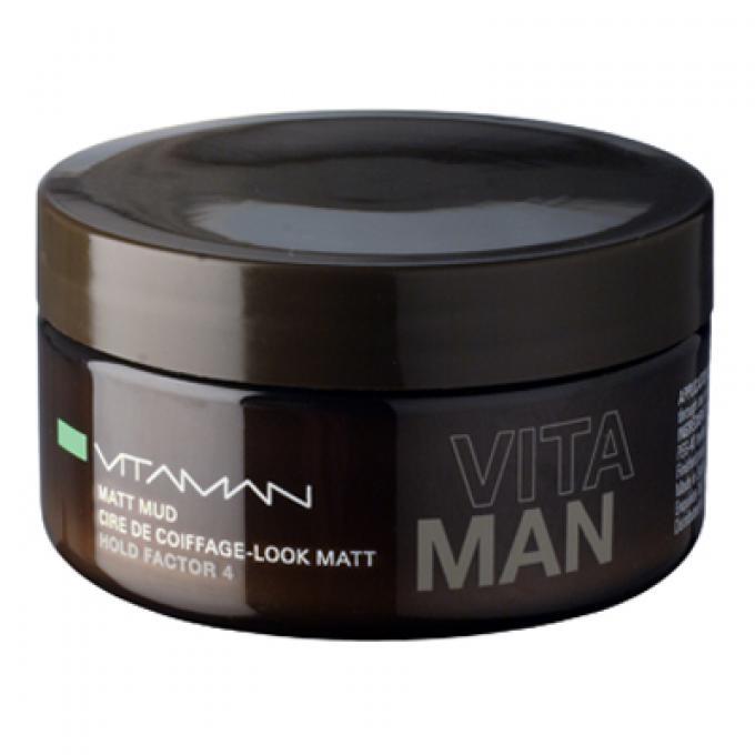 cire de coiffage homme aspect mat naturel vitaman gel cire cheveux homme. Black Bedroom Furniture Sets. Home Design Ideas