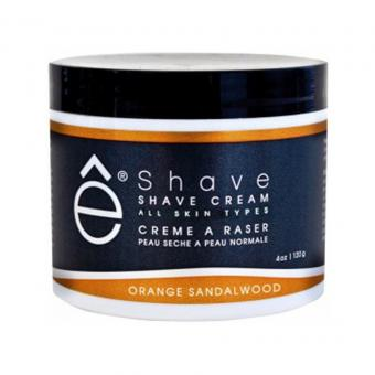 SHAVE CREAM Crème à Raser Orange & Bois de Santal E Shave