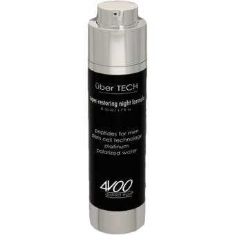 4Voo - UBER TECH SUPER RESTORING NIGHT FORMULA - Creme anti age homme