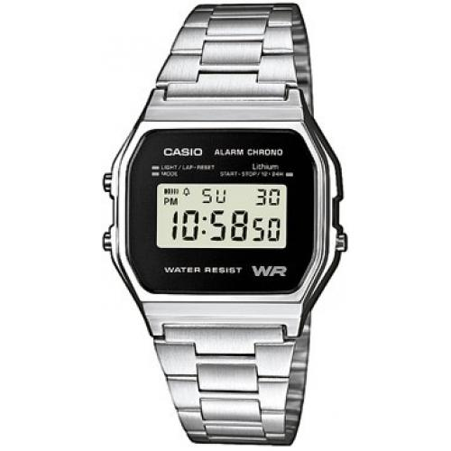 Casio - Montre CASIO Homme A158WEA-1EF - Montre casio homme