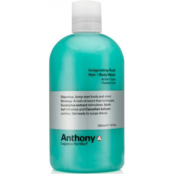 INVIGORATING RUSH HAIR & BODY WASH Anthony