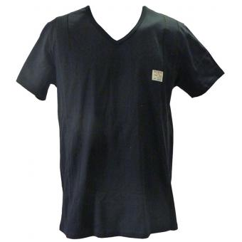 T-SHIRT COL V MANCHES COURTES SCOTCH Guess