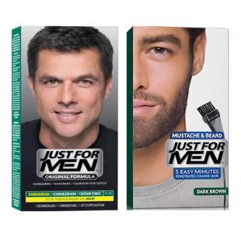Just For Men - DUO COLORATION CHEVEUX & BARBE - Coloration just for men