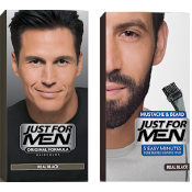 Just For Men Homme - DUO COLORATION CHEVEUX & BARBE Noir Naturel -  - JUST FOR MEN
