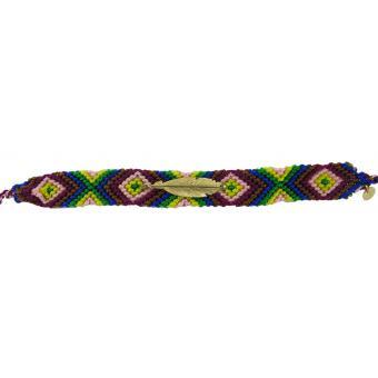 Bracelet Brésilien & Plume Vermeil N°4 - L BY L'AVARE - L by L'Avare