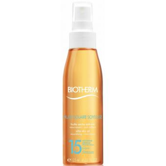 HUILE SOLAIRE SOYEUSE SPF 15